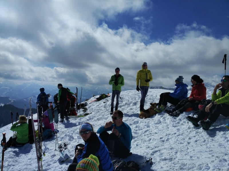 Rote Wand summit