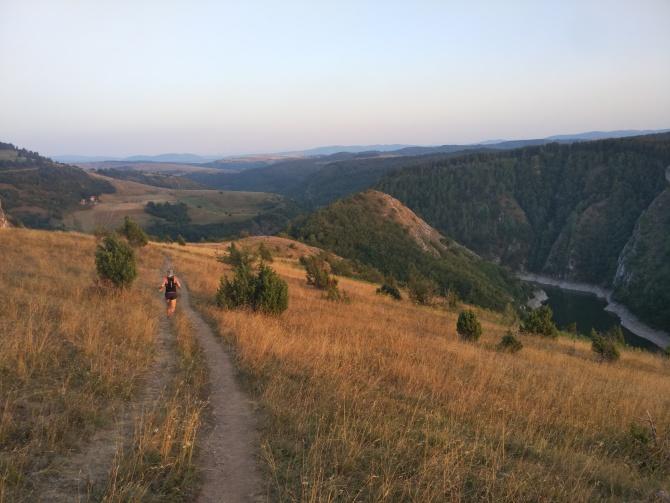 podvečerní trailrunning