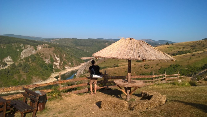 trek od jezera Uvac