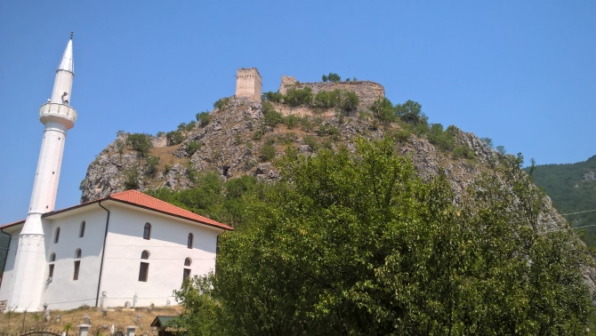 mešita s hradem