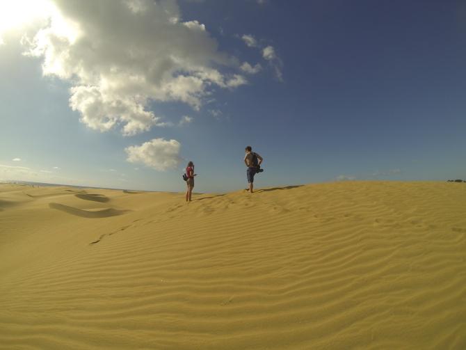 Písečné duny Maspalomas