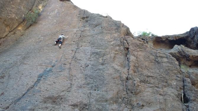La Sorrueda climbing