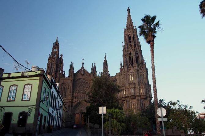kostel v Arucas