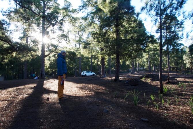 Zona de Acampada Tamadaba